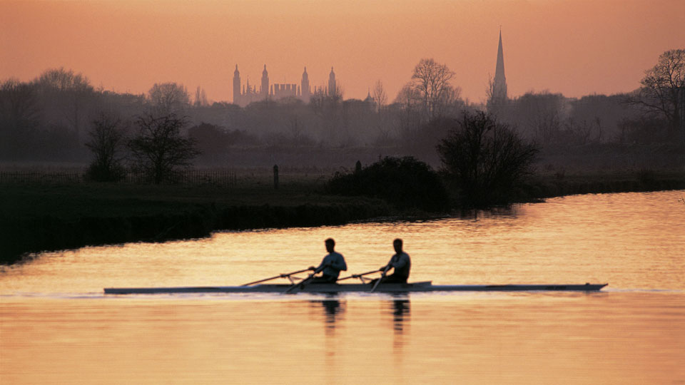 Evening Scull - Cambridge