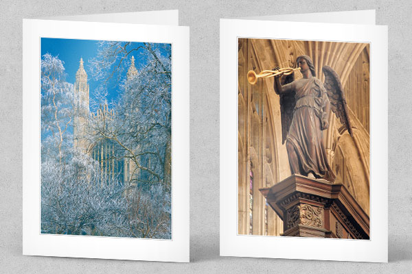 Customised Cambridge Christmas Card by The Oxbridge Portfolio