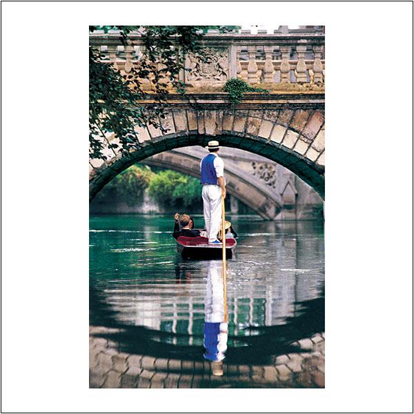 CP0010 Punting Wren Bridge St Johns