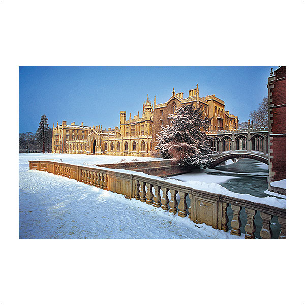 CP0017 New Court St Johns College Snow