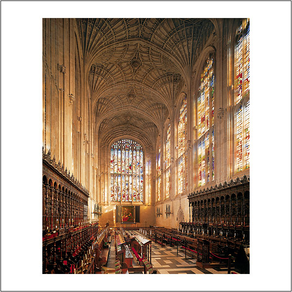 CP0081 King's College Chapel Nave East