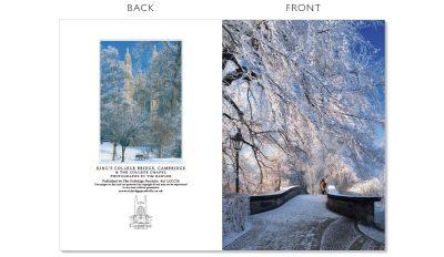 LCCC10 Cambridge Christmas Cards | The Oxbridge Portfolio