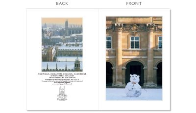 LCCC11 Cambridge Christmas Cards | The Oxbridge Portfolio