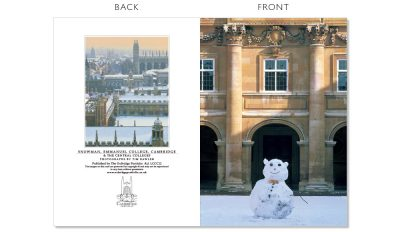 LCCC12 Cambridge Christmas Cards | The Oxbridge Portfolio