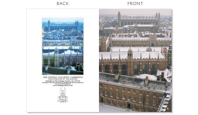 LCCC18 Cambridge Christmas Cards | The Oxbridge Portfolio