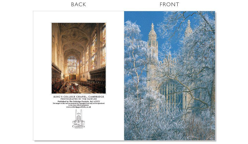 LCCC2 Cambridge Christmas Cards | The Oxbridge Portfolio