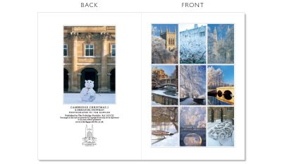 LCCC22 Cambridge Christmas Cards | The Oxbridge Portfolio