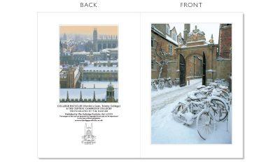 LCCC3 Cambridge Christmas Cards   The Oxbridge Portfolio