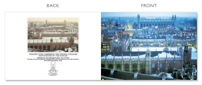 LCCC30 Cambridge Christmas Cards | The Oxbridge Portfolio