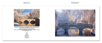 LCCC33 Cambridge Christmas Cards | The Oxbridge Portfolio