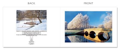 LCCC37 Cambridge Christmas Cards | The Oxbridge Portfolio
