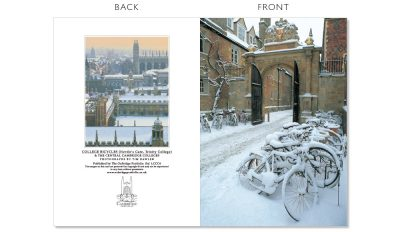 LCCC4 Cambridge Christmas Cards | The Oxbridge Portfolio