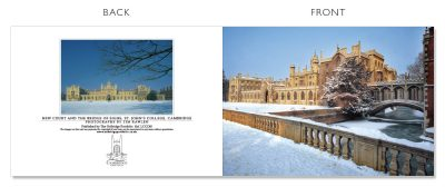 LCCC40 Cambridge Christmas Cards | The Oxbridge Portfolio