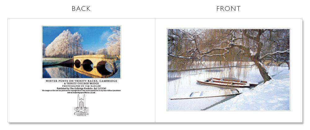 LCCC45 Cambridge Christmas Cards | The Oxbridge Portfolio