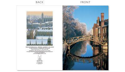 LCCC6 Cambridge Christmas Cards   The Oxbridge Portfolio