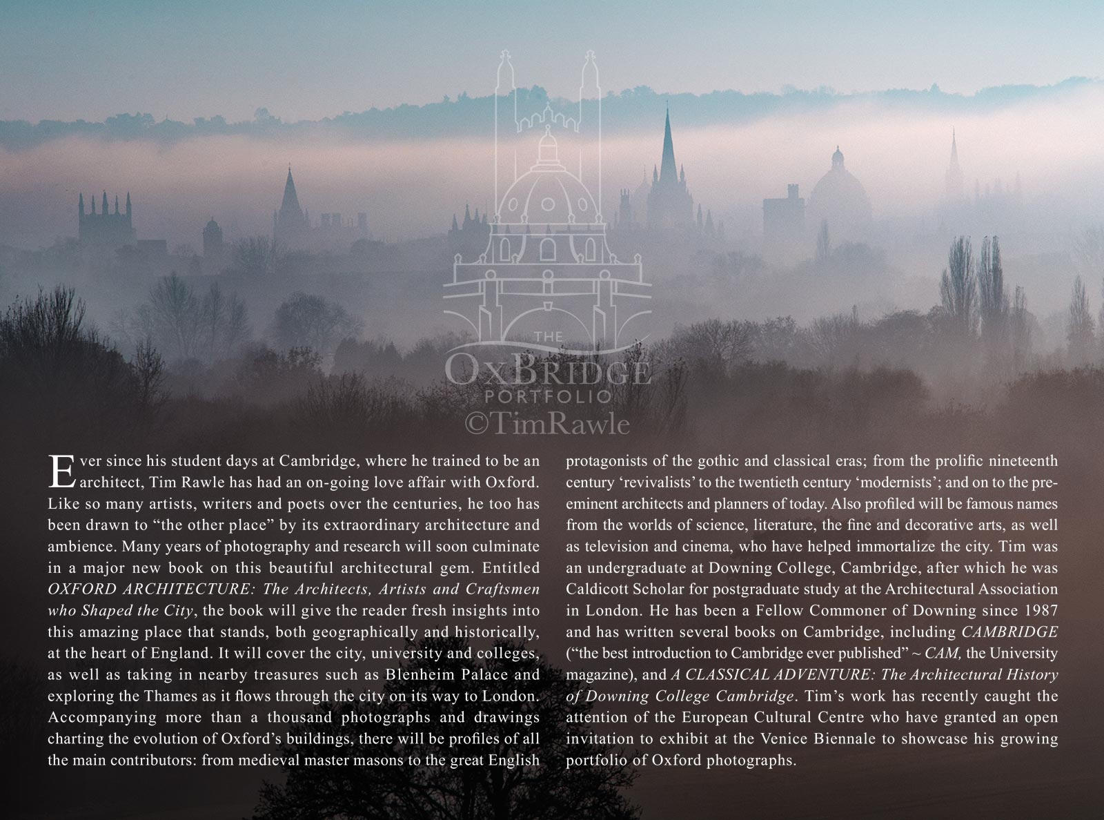 Books on oxford by Tim Rawle